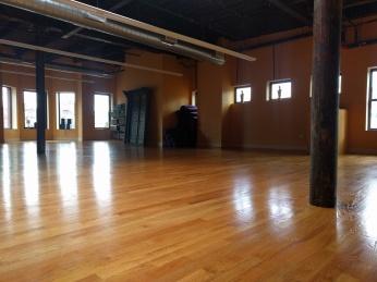 Large practice room